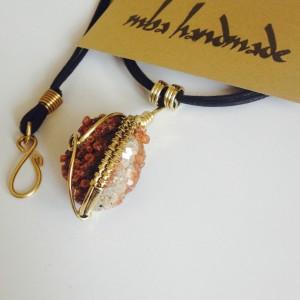 Aragonite--Brass--mba handmade--
